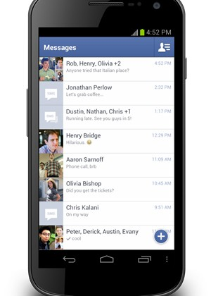 Facebook Messenger for Android update lands today