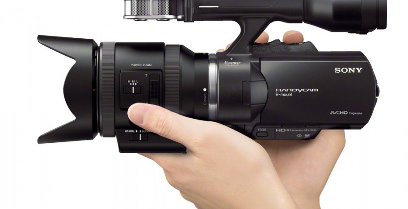 Sony NEX-VG900 full-frame Handycam and NEX-VG30 camcorders debut