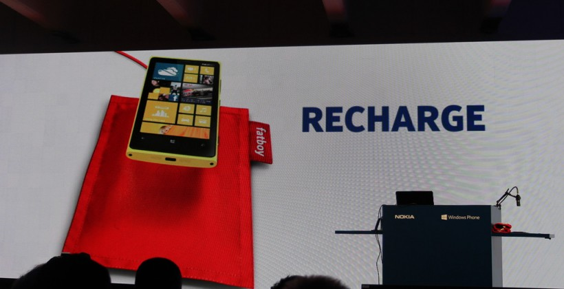 Nokia Fatboy charging pillow revealed for wireless Lumia 920 juicing