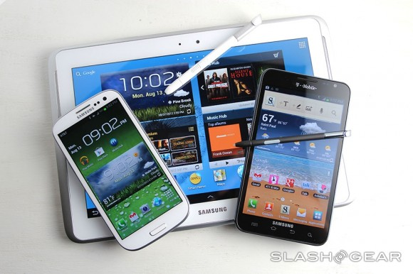 Galaxy S III and Note devices added to Apple case vs Samsung