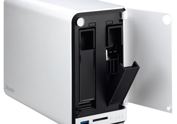 Shuttle OMNINAS KD20 2-bay NAS starts the product line