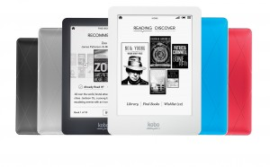 New Kobo e-reader line launches