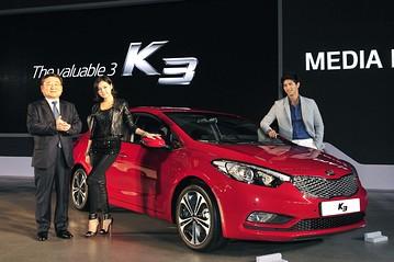 Kia launches K3 sedan in Korea