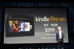 Kindle Fire HD 7-inch priced at $199, 8.9-inch at $299
