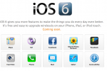 What's new in iOS 6? Here's the changelog
