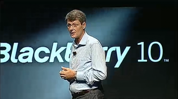 RIM CEO says BlackBerry has a shot at being number three