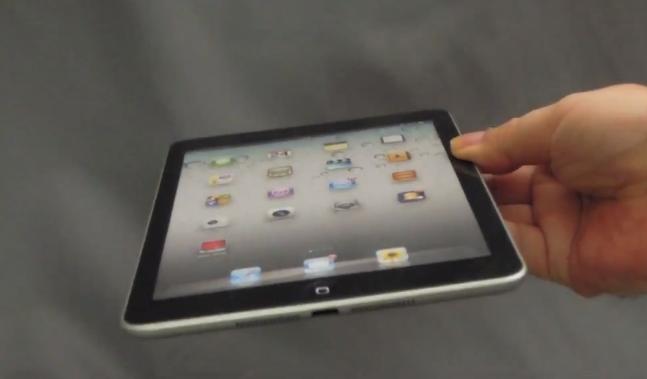 iPad Mini mockup shows up in HD video