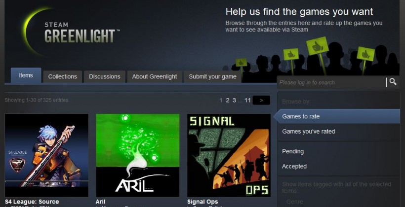 Valve imposes $100 submission fee to stop Steam Greenlight spammers