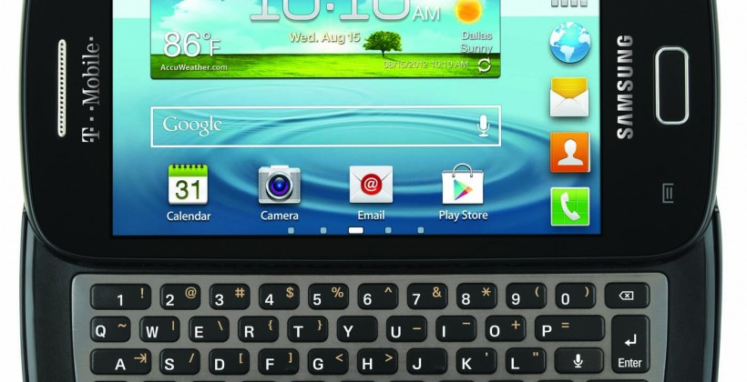 T-Mobile Galaxy S Relay 4G balances tepid specs with handy keyboard