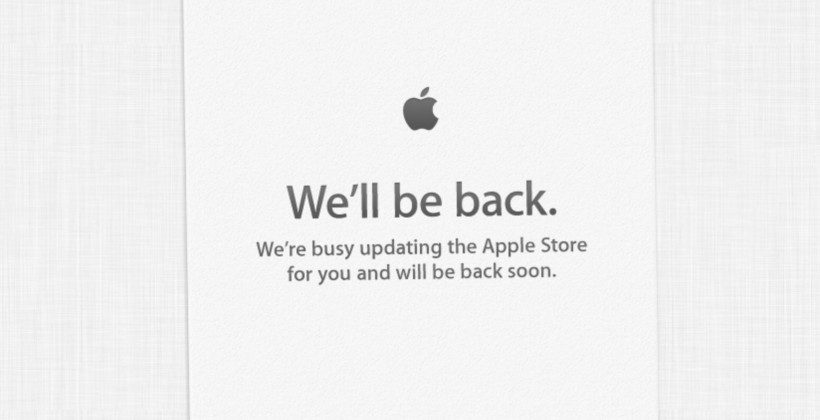 Apple Store is down: iPhone 5 incoming!