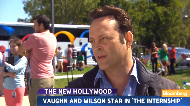 Google HQ opens for Vince Vaughn and Owen Wilson's movie crew