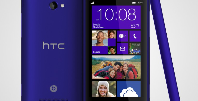HTC reveals Windows Phone 8X and 8S smartphones
