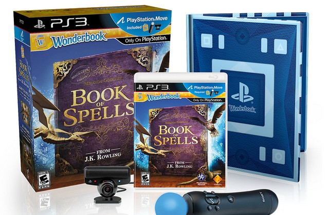 Wonderbook: Book of Spells lands on November 13