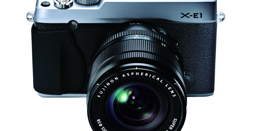 Fujifilm X-E1 mirrorless compact gets official
