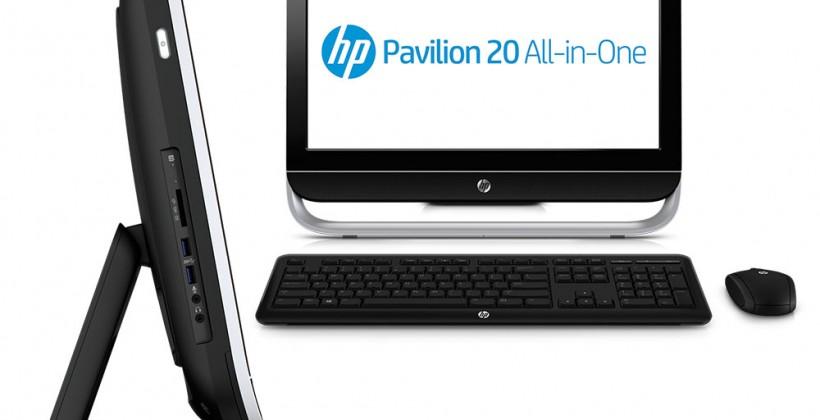 HP Pavilion 20 AIO PC brings Windows 8 at $499