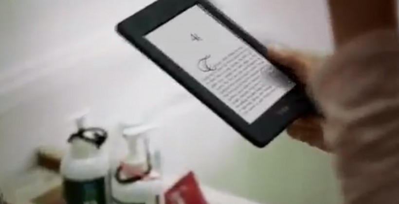 New Kindles caught on camera in NFL sneak peak