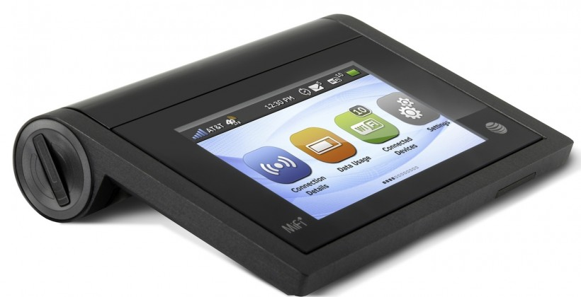 AT&T MiFi Liberate shares 10hrs of LTE with touchscreen simplicity