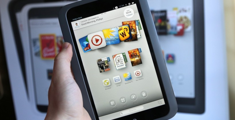 NOOK HD and the B&N ecosystem gamble