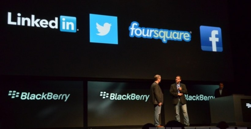 BlackBerry 10 to have native Facebook, Twitter, and more at launch