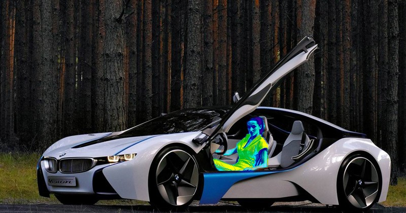 BMW boosting electric vehicle range with targeted heat-rays