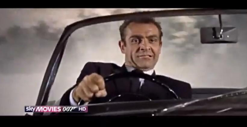 Bond takes on Bond in 007 car chase mashup