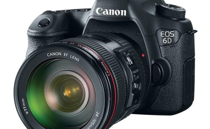Canon EOS 6D: 20.2MP full-frame DSLR with WiFi and GPS