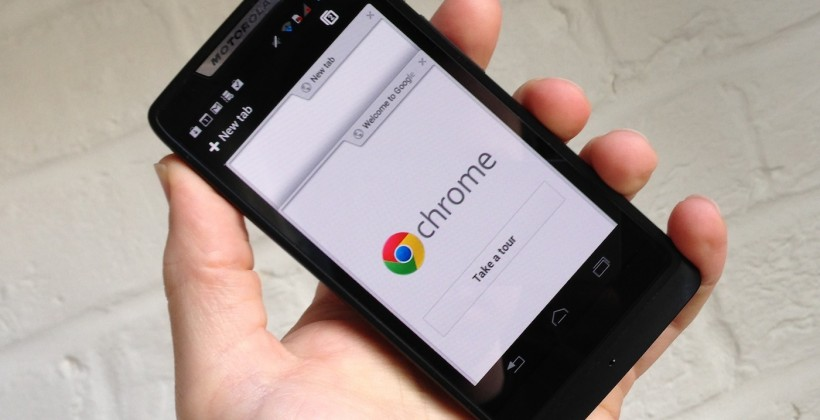 Chrome for Android updated for x86: Plays nicely with Medfield RAZR i
