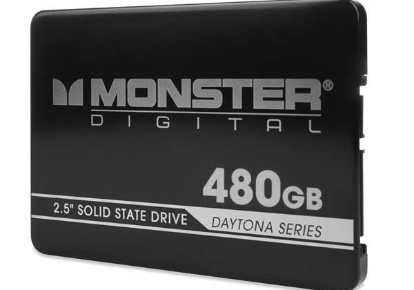 Monster Digital unveils Daytona Series SSD drives