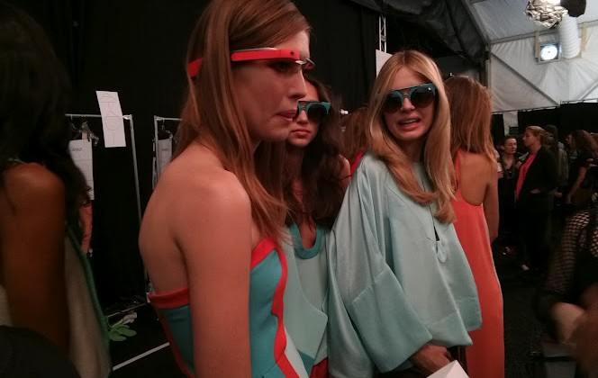 Google Glass hits the runway for DVF at Fashion Week