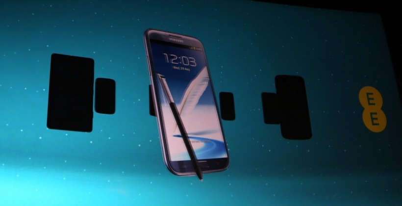 EE reveals first 4G LTE line-up: Galaxy S III, iPhone 5 teaser
