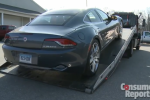 "Consumer Reports slams the Fisker Karma saying it's ""plagued with flaws"""