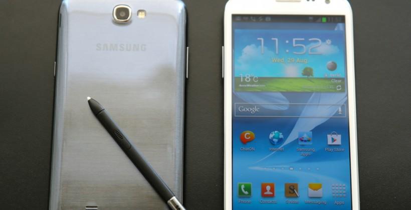 Samsung Galaxy Note II leak points to Verizon release