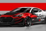 Hyundai Genesis Coupe R-Spec Track edition to be displayed at SEMA