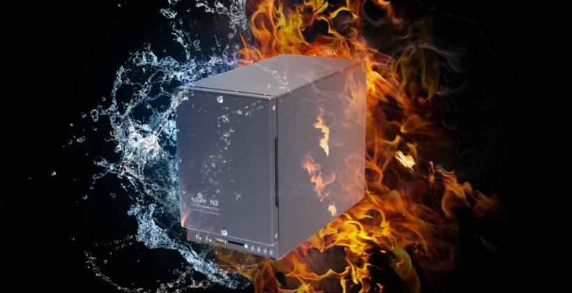 ioSafe N2 fireproof and waterproof NAS Indiegogo campaign kicks off