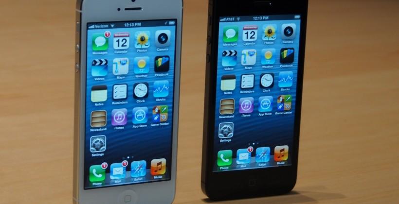 iPhone 5 pre-orders now open