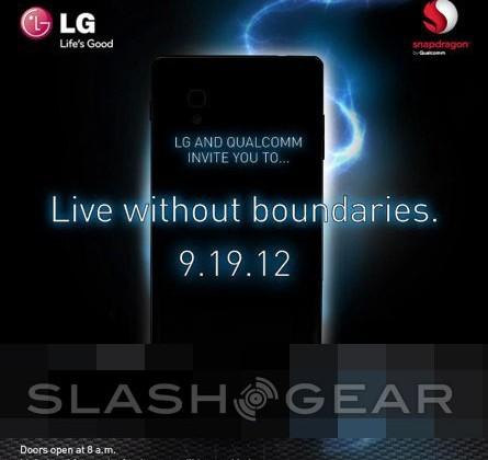 LG press invite teases Qualcomm quad-core excellence