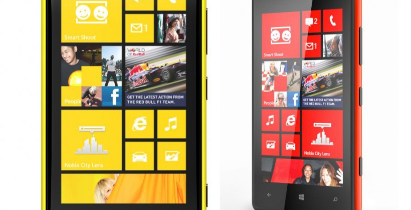 "Nokia: Lumia 920 and 820 coming with LTE and HSPA+ ""later in year"""