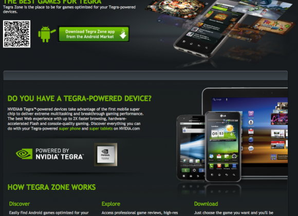 NVIDIA TegraZone breaks 5 million download mark