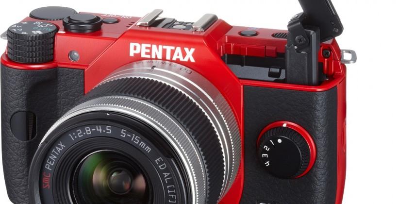 Pentax Q10 interchangeable lens camera official