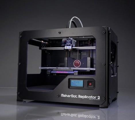 MakerBot Replicator 2 desktop 3-D printer debuts