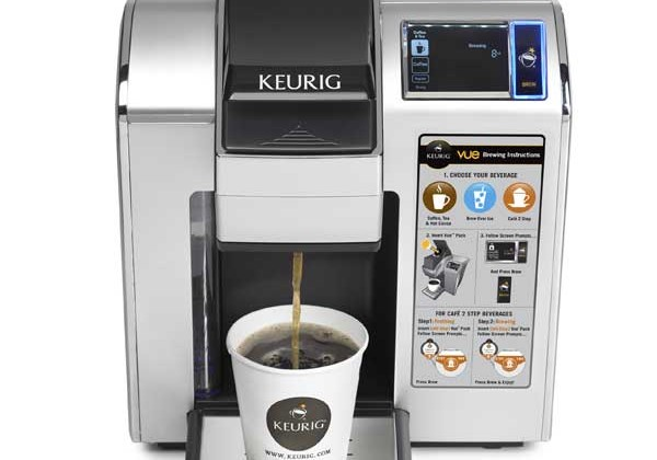 Keurig Vue V1200 coffee brewer uses RFID technology