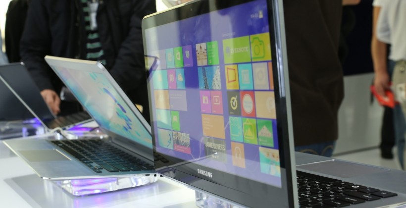 Samsung Dual-Display Notebook concept hands-on