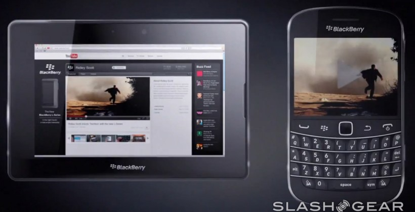 BlackBerry 10 demo video gives first glimpse of QWERTY hero device