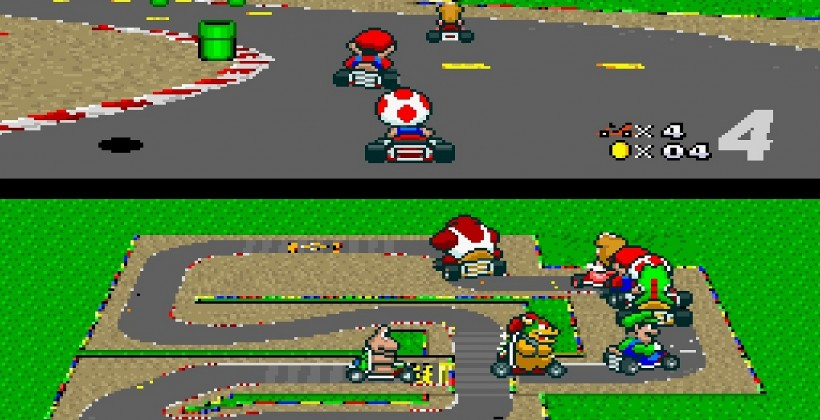 Remembering the Late, Great Super Mario Kart