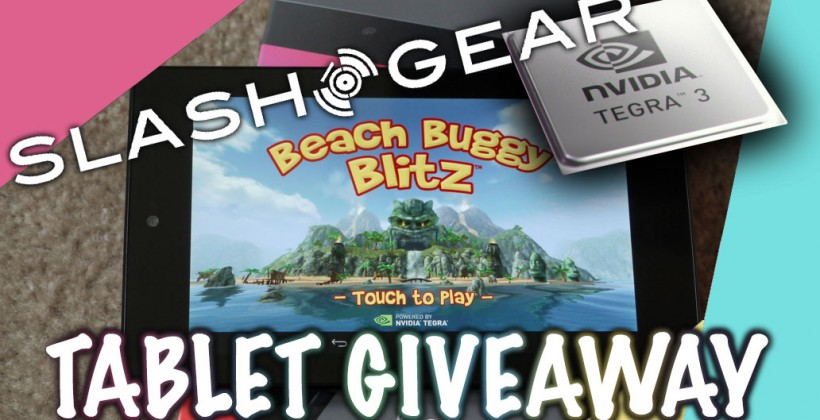 SlashGear's Beach Buggy Blitz Tegra 3 Tablet Giveaway