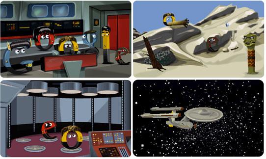 Star Trek Google Doodle celebrates birth of the original series