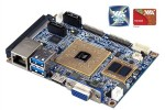 VIA unveils first quad core pico-ITX mainboard supporting 3-D displays