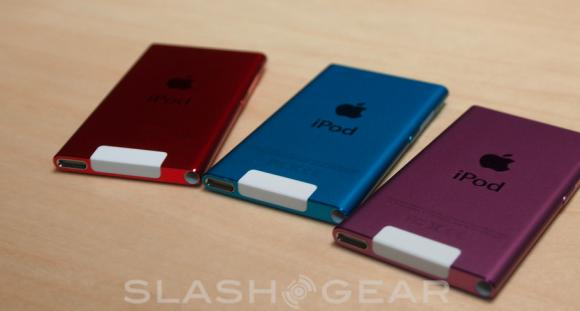 7th-gen iPod nano Hands-on - SlashGear