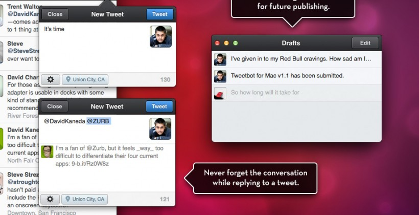 Tweetbot for Mac hits App Store with hefty price