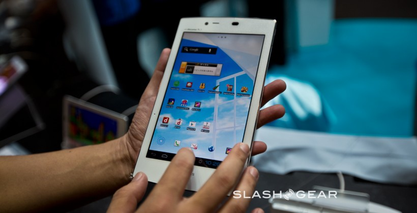 NEC Medias Tab UL hands-on: The best Android tablet you probably can't buy